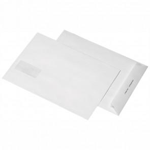 MAILMEDIA Versandtasche B4 mit Fenster haftklebend weiß 250 Stück 120g