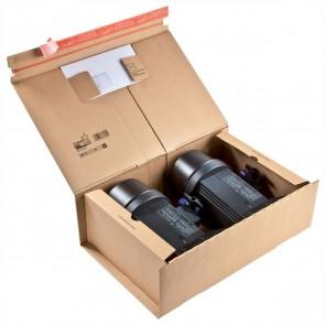 COLOMPAC Versandkarton CP06707 460x310x160mm braun
