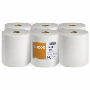 RACON premium Papierhandtuch 20x36cm 2-lagig (162m) Pack 6 x 450 Blatt