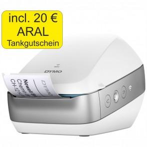 DYMO LabelWriter Wireless WLAN weiß + 20 Euro Tankgutschein