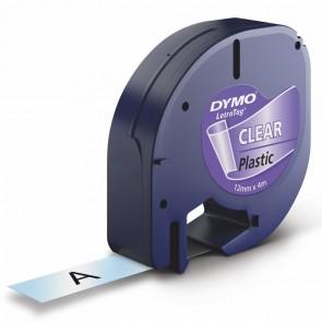 DYMO LetraTag Schriftband 16951 12mm x 4m transparent Plastik