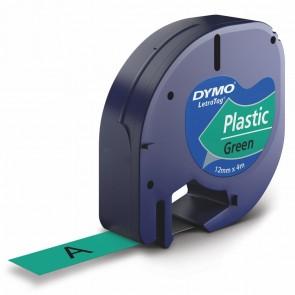 DYMO LetraTag Schriftband 91224 12mm x 4m grün Plastik