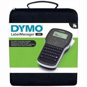 DYMO Etikettendrucker LabelManager 280 im Koffer SPARPACK mit 2 Bändern | Akku
