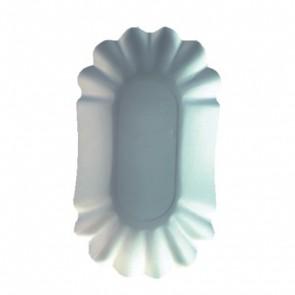 PAPSTAR Papp-Schale oval 10,5 x 17,5 x 3cm, 250 Stück