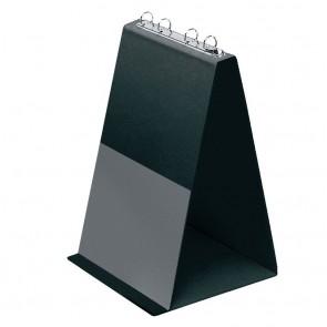 VELOFLEX Tischflipchart 4102 A4 hoch schwarz mit 10 Hüllen
