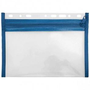 VELOFLEX VELOBAG XXS A5 blau Reißverschluß Tasche zum Abheften