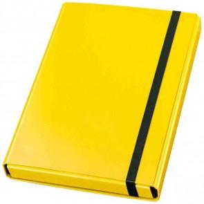 VELOFLEX Heftbox Velocolor 44433 A4 mit Gummizug 40mm gelb
