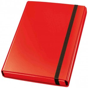 VELOFLEX Heftbox Velocolor 44433 A4 mit Gummizug 40mm rot