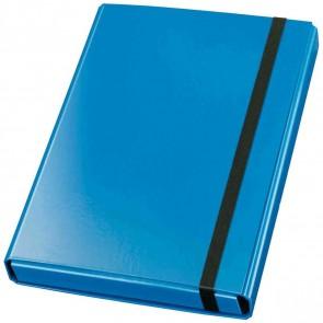 VELOFLEX Heftbox Velocolor 44433 A4 mit Gummizug 40mm blau