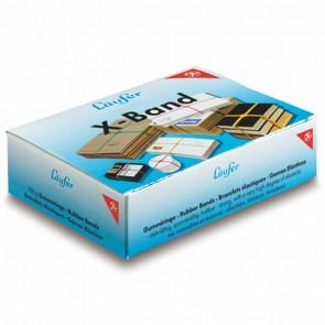 LÄUFER Gummiband x-Band 100g 150 x 11mm