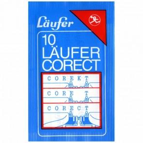 LÄUFER Corect (baugleich TIPP-EX Korrekturpapier weiß) 10 Blatt