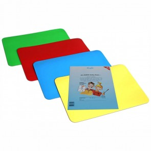 LÄUFER Hobbyplatte / Knetunterlage 24x30 cm ca. A4 farbig sortiert