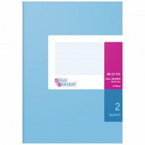K+E Spaltenbuch A5 2 Spalten 40 Blatt