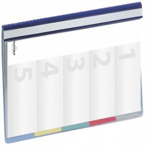 DURABLE Organisationshefter Divisoflex 2557 blau 5-fach Unterteilung