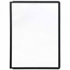DURABLE Sichttafel Rahmen A4 PP 5606-01 schwarz