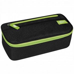WEDO Schlamperbox groß schwarz / hellgrün