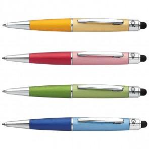WEDO Touchpen Mini Brushed Look farbig sortiert