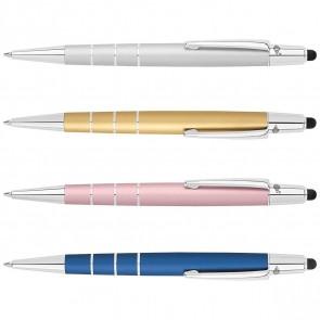 WEDO Kugelschreiber Touchpen Newbie Metallic farbig sortiert