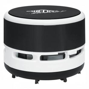 WEDO Tischstaubsauger incl. Batterien schwarz / weiß