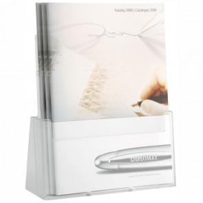 HELIT Tischprospektständer H23523-02 1x A4 glasklar