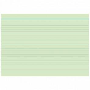 RNK Karteikarten A8 liniert grün 100 Stück