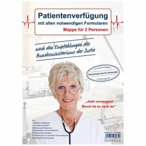 RNK Patientenverfügung 2896 für 2 Personen in A4 Mappe