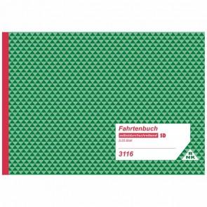 RNK Fahrtenbuch 3116 LKW 2 x 25 Blatt selbstdurchschreibend