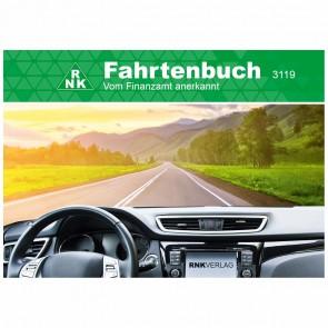 RNK Fahrtenbuch 3119 PKW A6  quer 32 Blatt