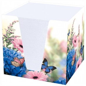 RNK Zettelbox 46735 Hortensie ca. 900 Blatt