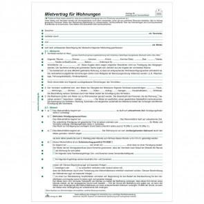 RNK Mietvertrag 525 für Wohnung 6 Seiten A4