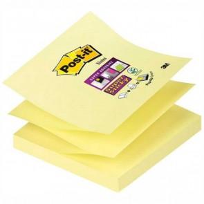 POST-IT Haftnotiz Z-Notes Super Sticky R330-12-SY 76x76mm 90 Blatt gelb