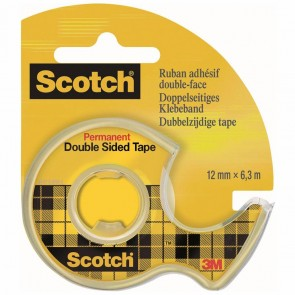 SCOTCH Klebeband 665 doppelseitig 12mm x 6,3m