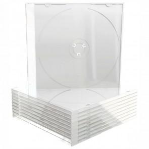 MEDIARANGE CD-Hülle Slimcase BOX32-T transparent 10 Stück