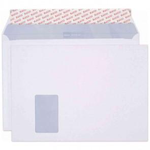 ELCO Versandtasche Office 7452312 C4 mit Fenster haftklebend weiß 120g 50 Stück