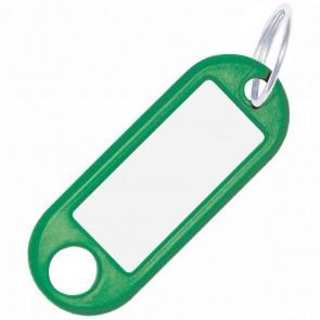 ALCO Schlüsselanhänger mit Ring 18mm grün 10 Stück