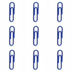 ALCO Briefklammer 256-15 26mm dunkelblau 100 Stück kunststoffüberzogen