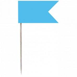 ALCO Markierungsfähnchen 714 hellblau ca. 32mm 20 Stück