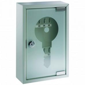 ALCO Schlüsselkasten 877 mit Glastür für 10 Schlüssel