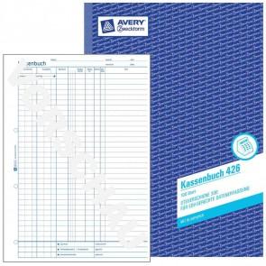 AVERY Kassenbuch 426 A4 EDV 100 Blatt