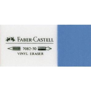 FABER CASTELL Radiergummi KOMBI weiß/blau 7082-30