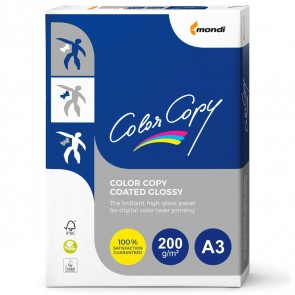 MONDI Color Copy Coated Glossy A3 200g 250 Blatt