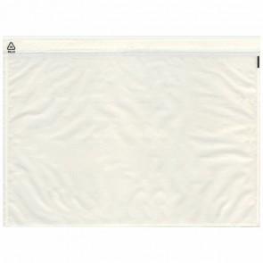 DEBATIN Begleitpapiertaschen UNIPACK C5 transparent ohne Druck 250 Stück