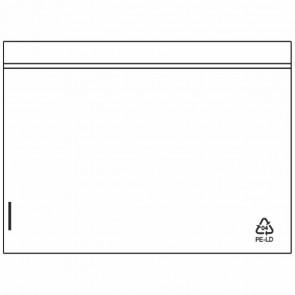 DEBATIN Begleitpapiertaschen UNIPACK C6 transparent ohne Druck 1000 Stück