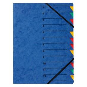 PAGNA Ordnungsmappe 24131 12tlg. EASY blau