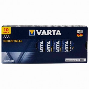 VARTA Batterie Industrial PRO 4003 Micro-AAA 1,5V 10 Stück