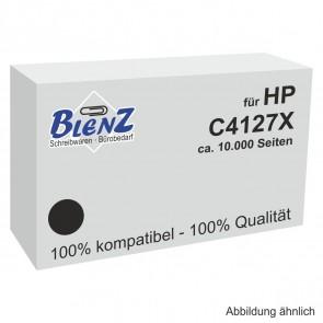 BLENZ Toner für HP C4127X schwarz fabrikneu (kein Rebuilt)