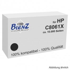 BLENZ Toner für HP C8061X schwarz fabrikneu (kein Rebuilt)