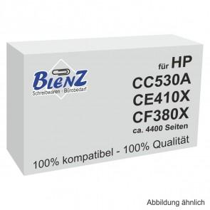 BLENZ Toner für HP CC530A, CE410X, CF380X schwarz