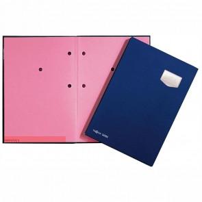 PAGNA Unterschriftsmappe A4 24102 blau 10-teilig ECO Einband