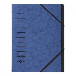 PAGNA Ordnungsmappe 40058 7-teilig blau 1-7